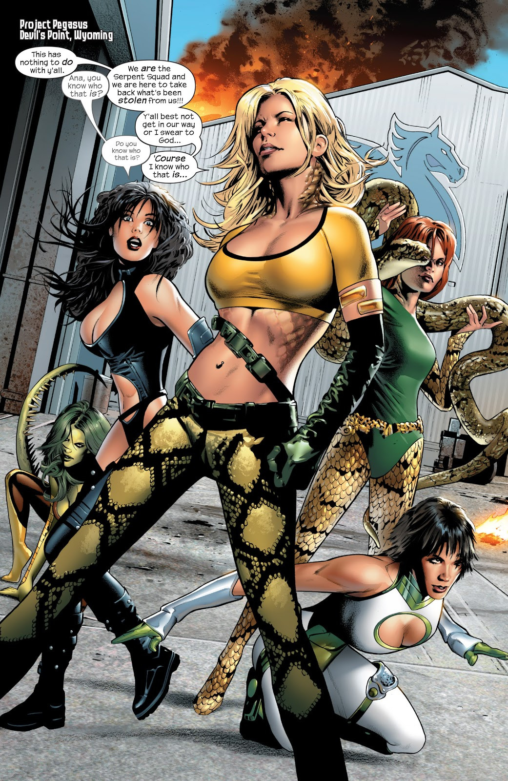 Serpent Squad (Earth-1610)/Gallery