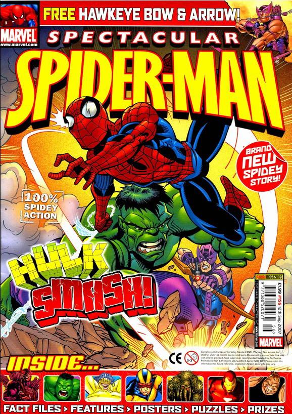 Spectacular Spider-Man (UK) Vol 1 156