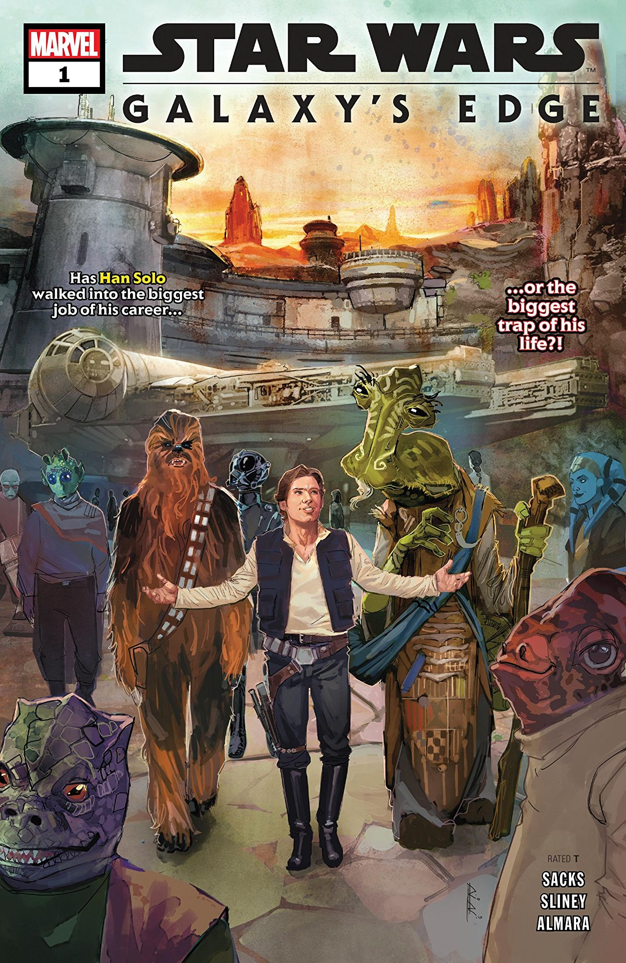 Star Wars: Galaxy's Edge Vol 1 1