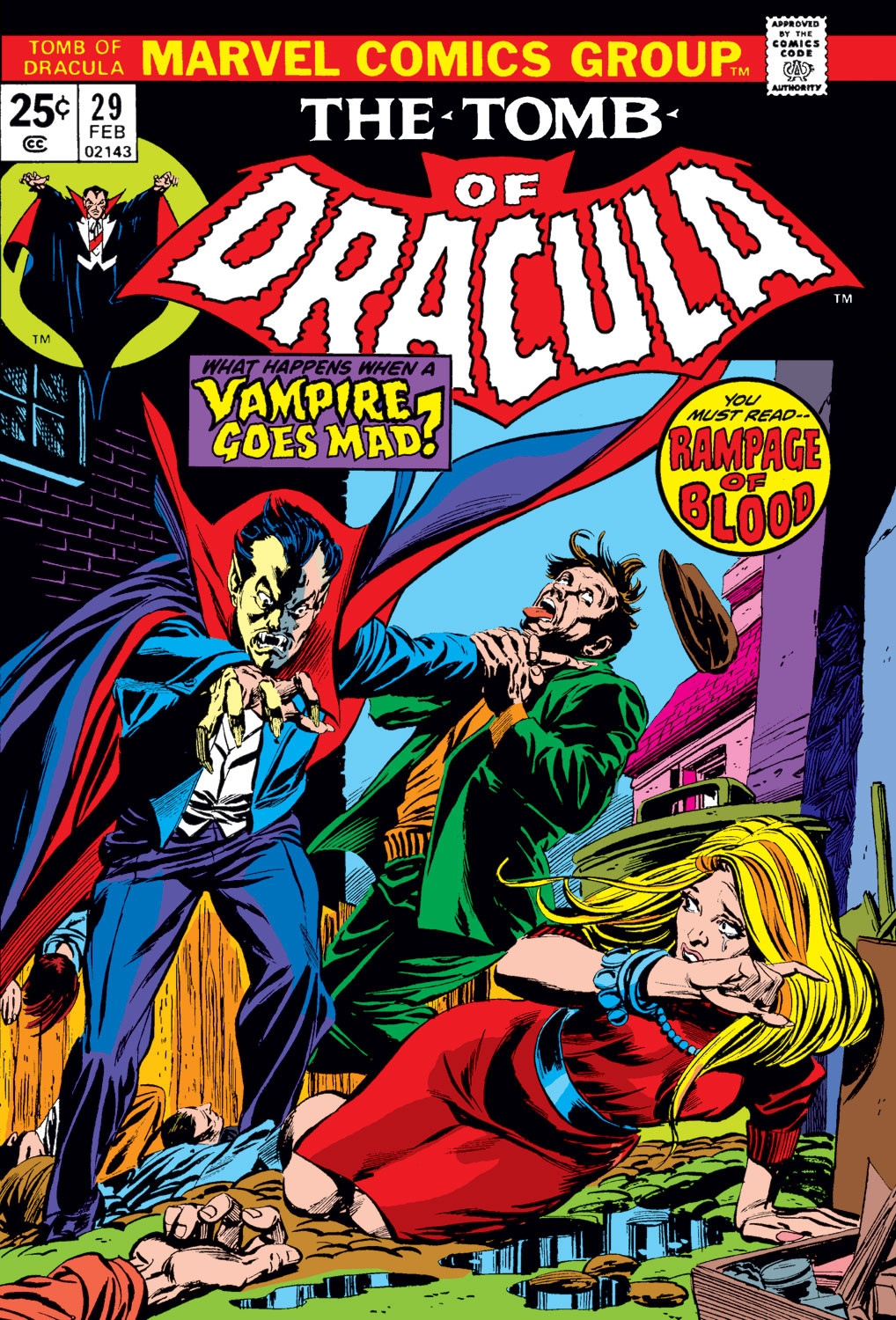 Tomb of Dracula Vol 1 29