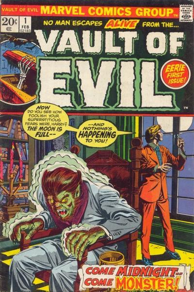 Vault of Evil Vol 1