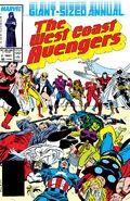 West Coast Avengers Annual Vol 1 2
