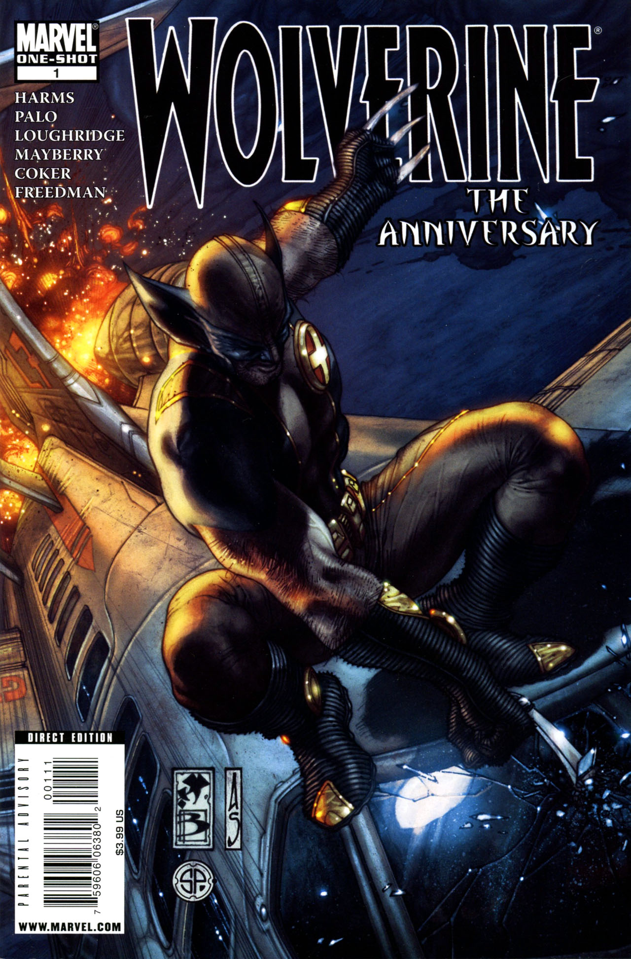 Wolverine: The Anniversary Vol 1 1