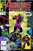 Avengers Spotlight Vol 1 33