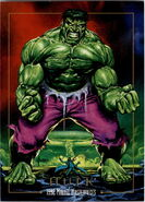 Bruce Banner (Earth-616) from Marvel Masterpieces Trading Cards 1992 0001