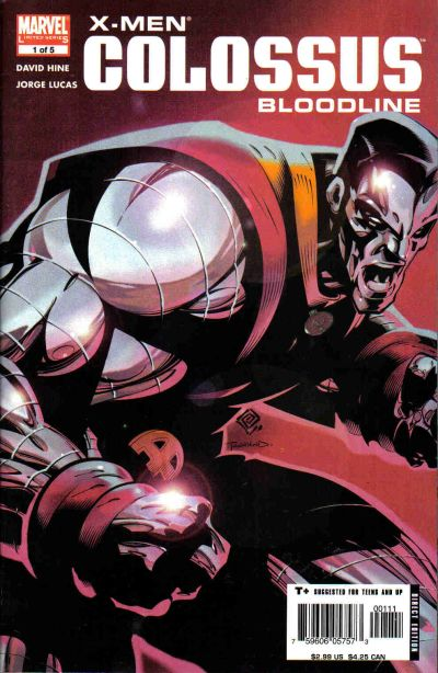 X-Men: Colossus Bloodline Vol 1 1