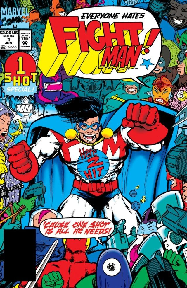 Fight Man Vol 1 1
