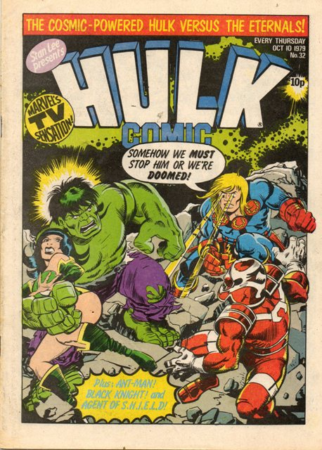 Hulk Comic (UK) Vol 1 32