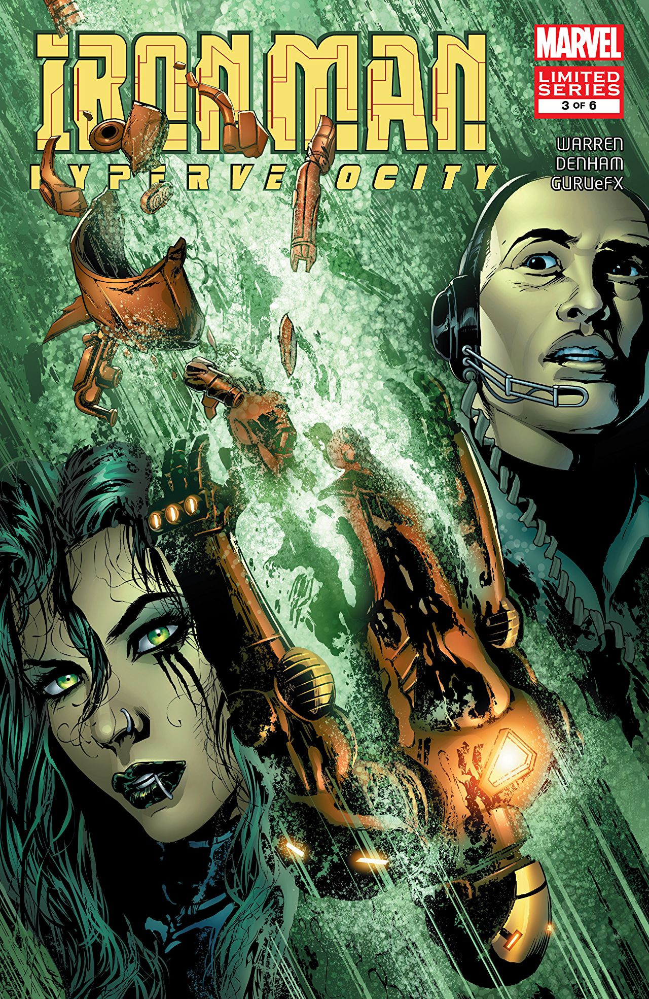 Iron Man: Hypervelocity Vol 1 3