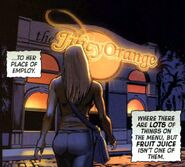 Juicy Orange from Dead of Night Featuring Man-Thing Vol 1 2 0001