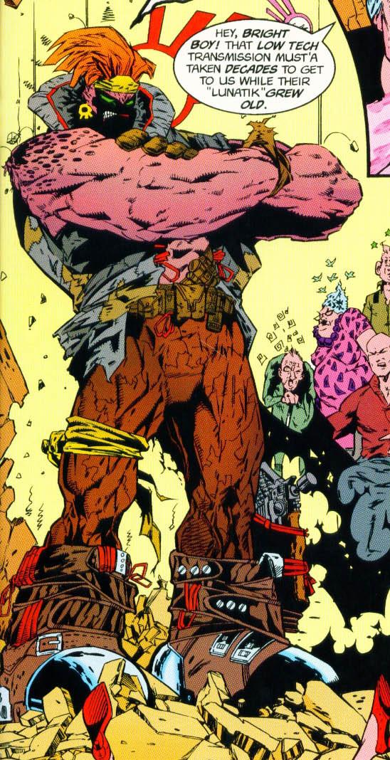 Lunatik (Mercenary) (Earth-616)