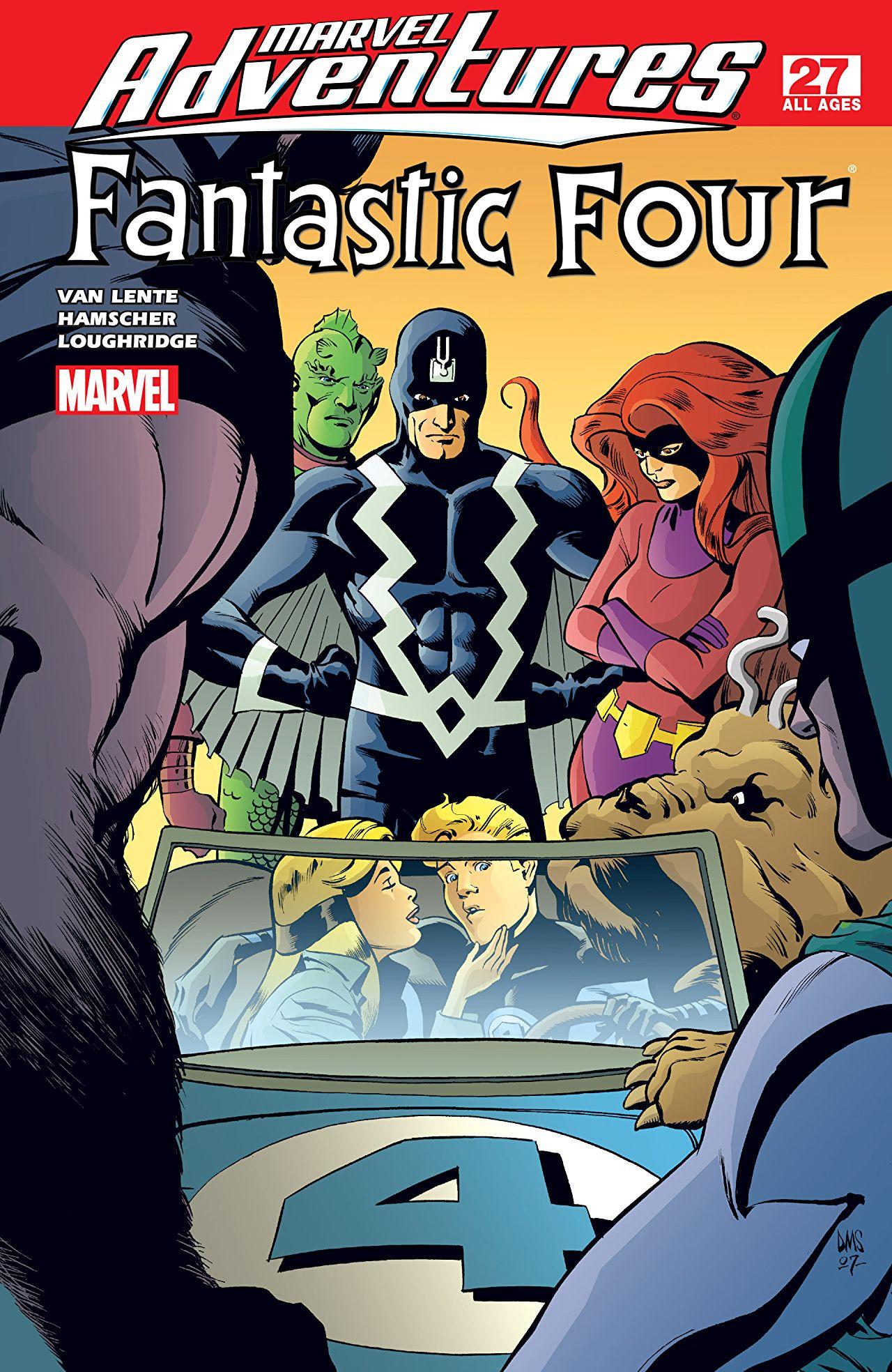 Marvel Adventures: Fantastic Four Vol 1 27