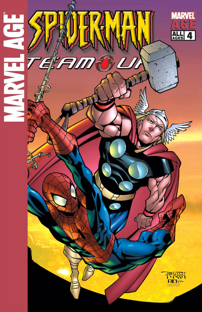 Marvel Age: Spider-Man Team-Up Vol 1 4