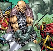 Percival of Scandia (Earth-616) and Hades (Earth-616) from Mystic Arcana Black Knight Vol 1 1 001