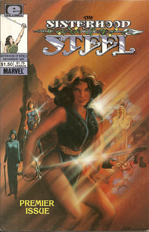 Sisterhood of Steel Vol 1 1