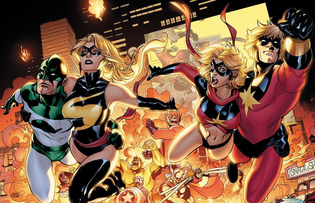 Captain Marvel's Suit