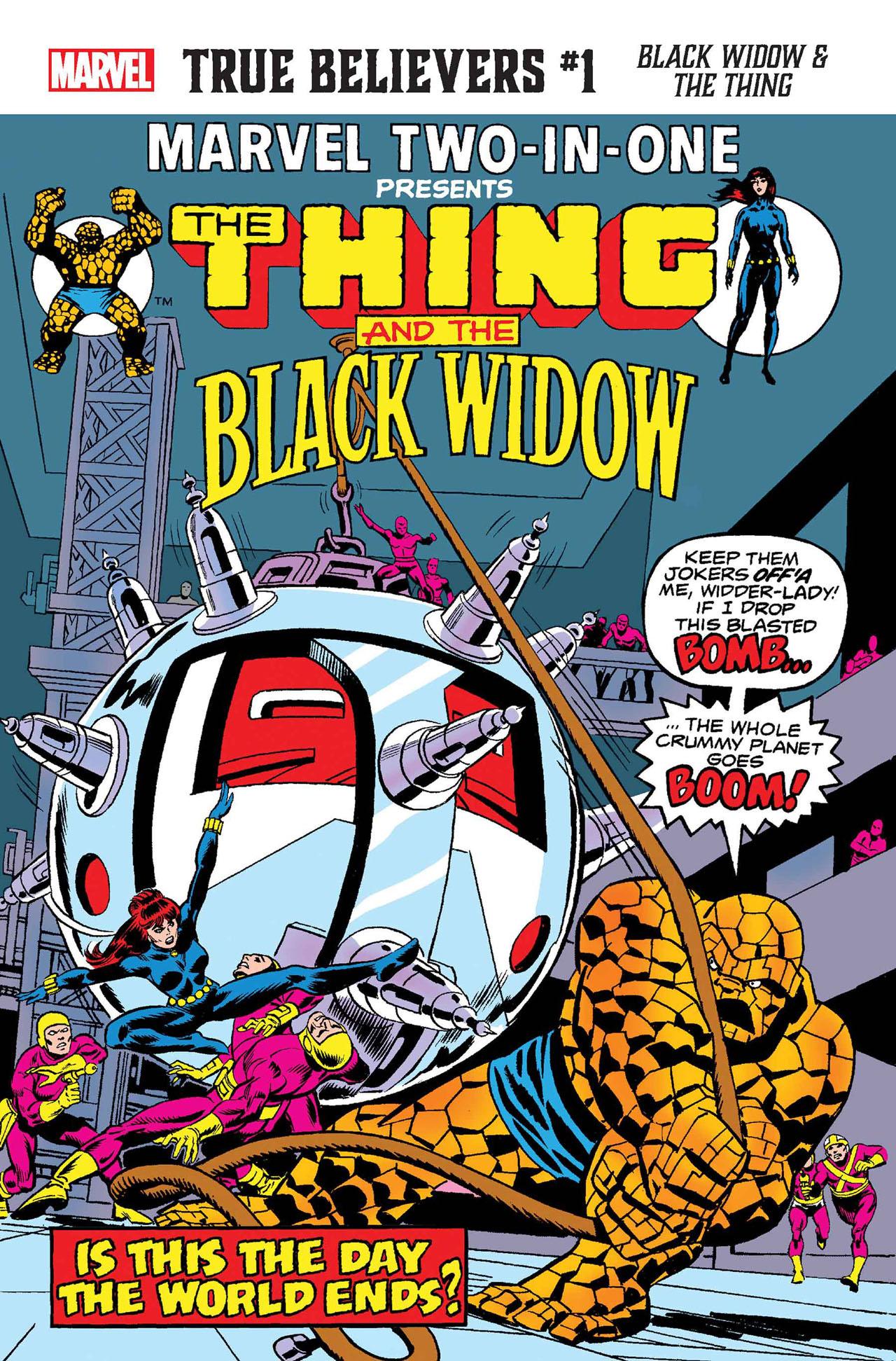True Believers: Black Widow & the Thing Vol 1 1