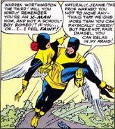 Warren Worthington III (Earth-616) from X-Men Vol 1 2 0004