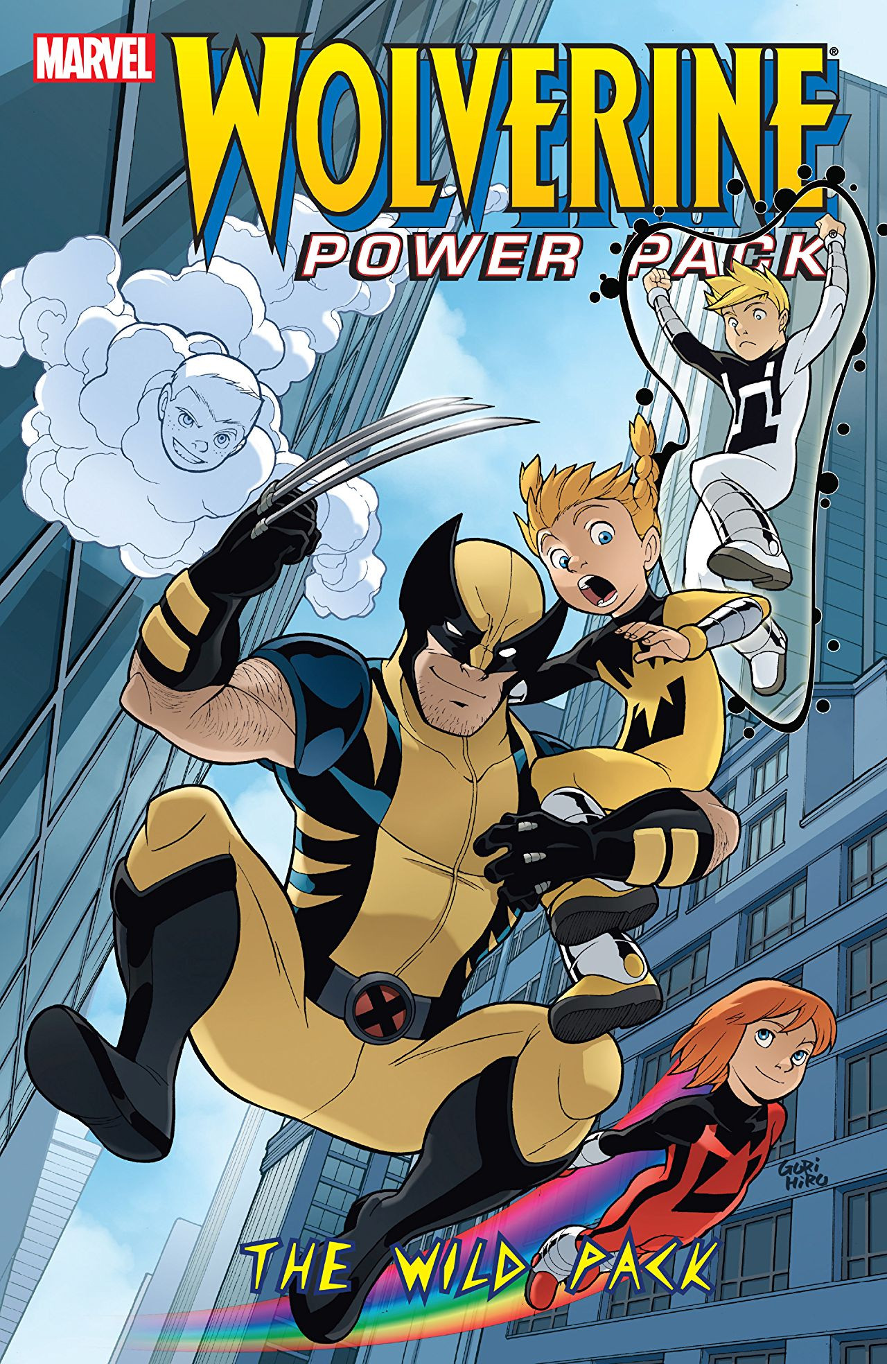 Wolverine and Power Pack TPB Vol 1 1: The Wild Pack
