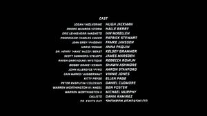 X-Men The Last Stand Credits 1