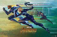 Avengers Infinity War Fandango poster 004