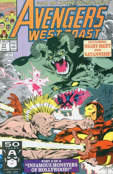 Avengers West Coast Vol 2 77