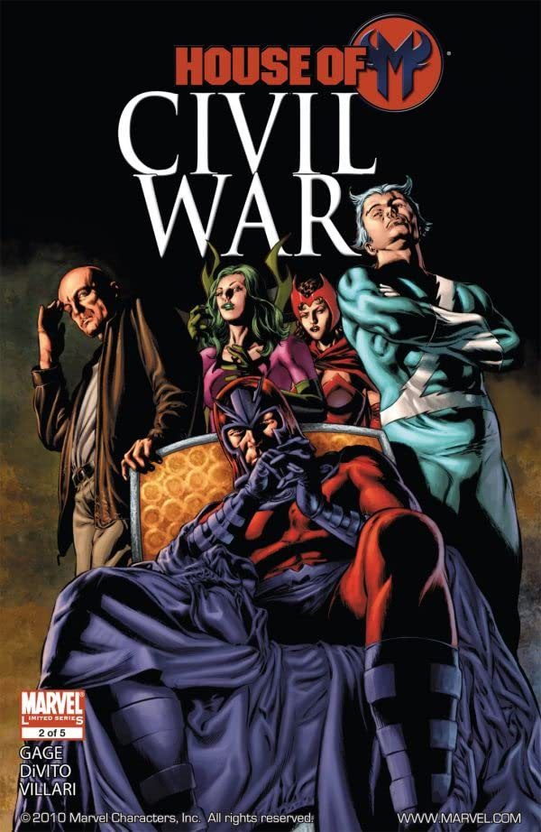 Civil War: House of M Vol 1 2