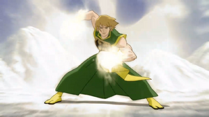 Danny Rand (Earth-12041) using his power.png