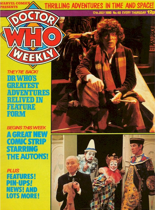 Doctor Who Weekly Vol 1 40