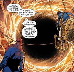 Earth-833 (destroyed) from Amazing Spider-Man Vol 3 15.jpg