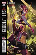 Generations Hawkeye & Hawkeye Vol 1 1