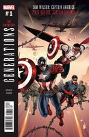Generations Sam Wilson Captain America & Steve Rogers Captain America Vol 1 1