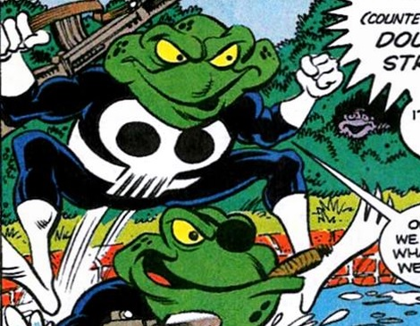George (Frog) (Earth-9047)