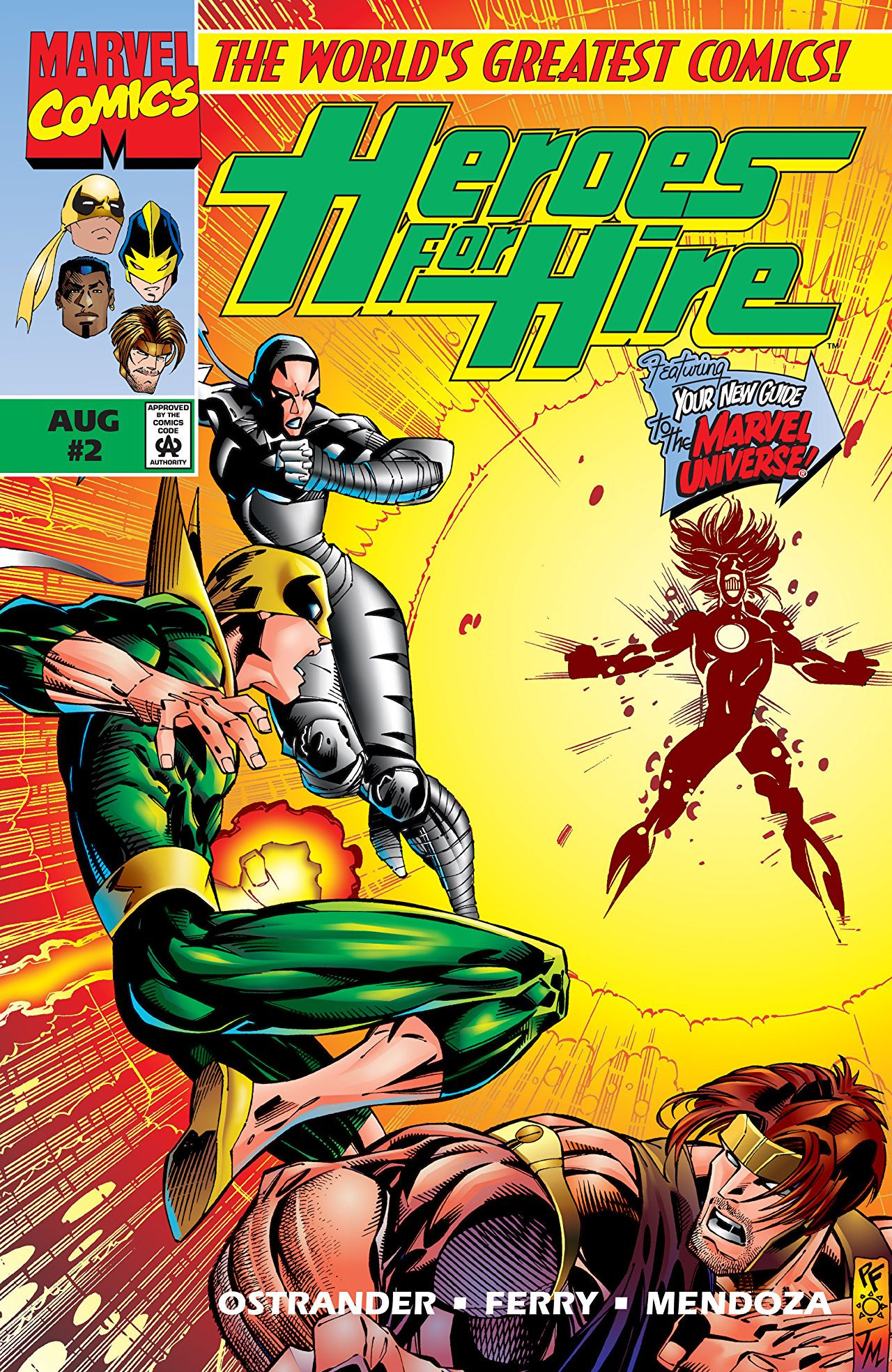 Heroes for Hire Vol 1 2