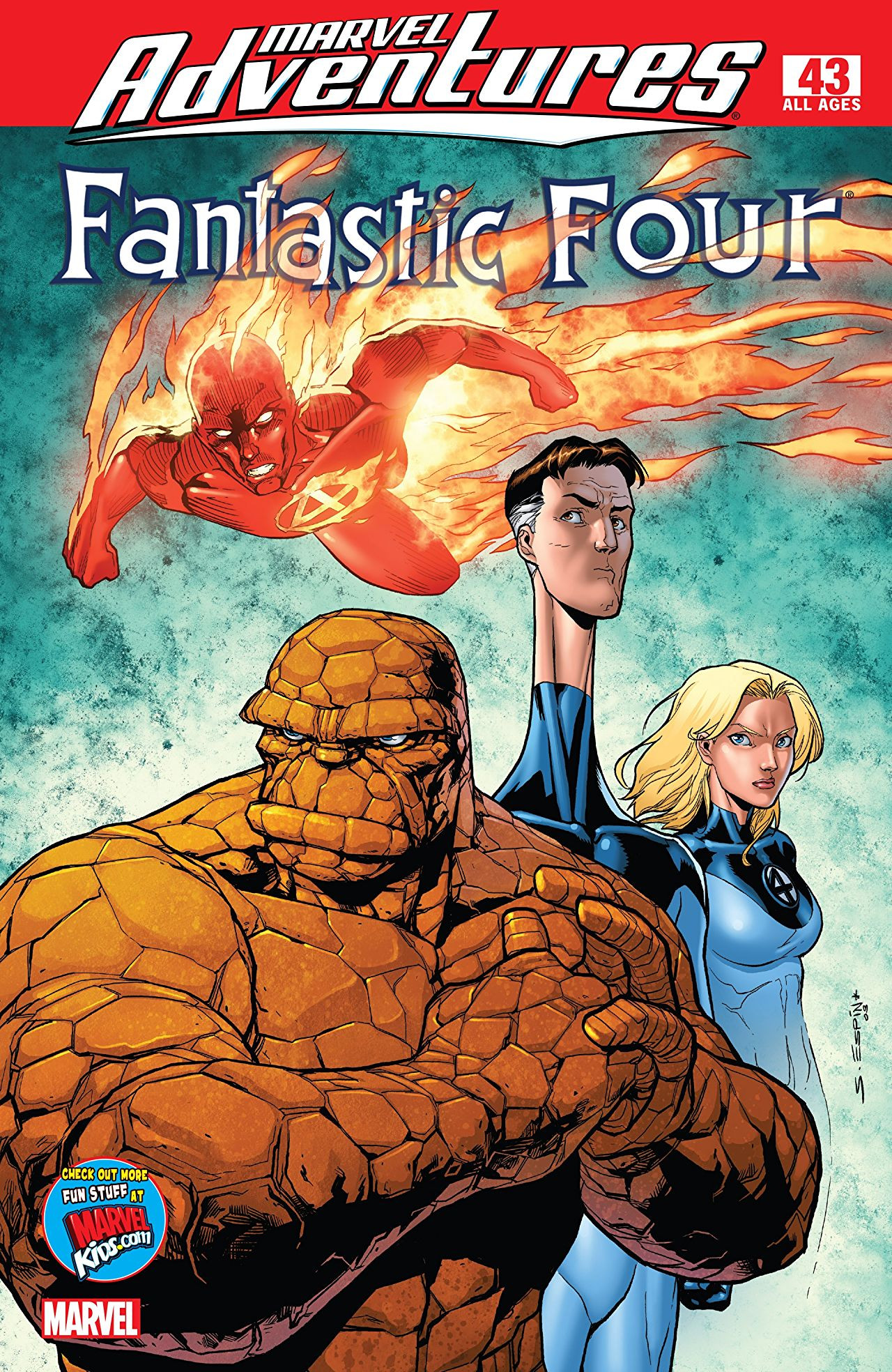 Marvel Adventures: Fantastic Four Vol 1 43