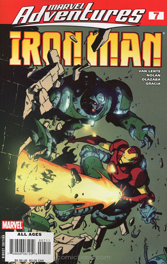 Marvel Adventures: Iron Man Vol 1 7