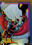 Samuel Wilson (Earth-616) from Marvel Universe Cards Series IV 0001