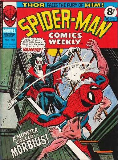 Spider-Man Comics Weekly Vol 1 140