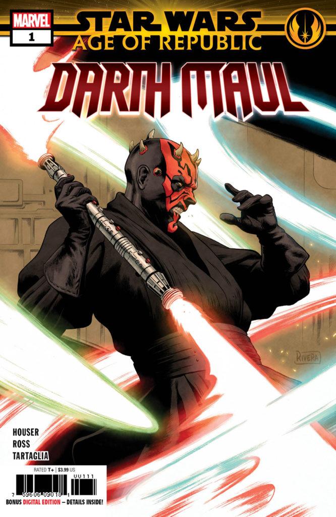 Star Wars: Age of Republic - Darth Maul Vol 1 1