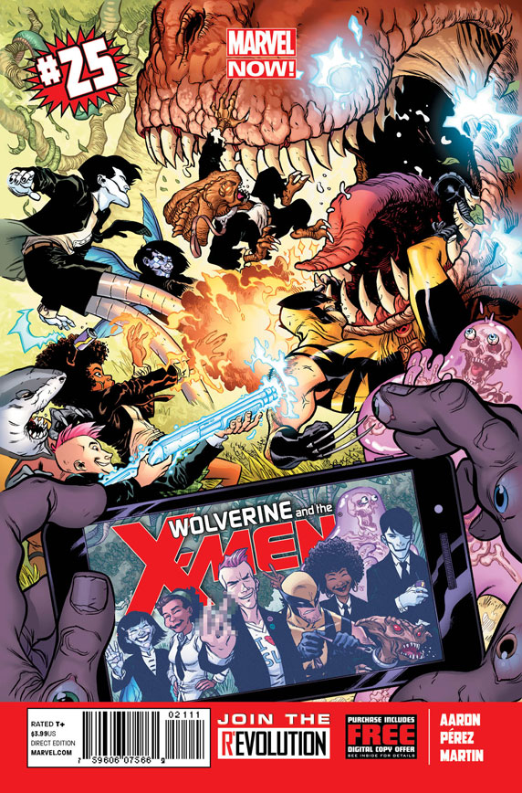 Wolverine and the X-Men Vol 1 25