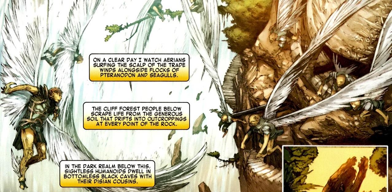 Aerians (Beast-Men)