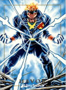 Alexander Summers (Earth-616) from Marvel Masterpieces Trading Cards 1992 0001