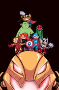 Avengers Ultron Forever Vol 1 1 Baby Variant Textless
