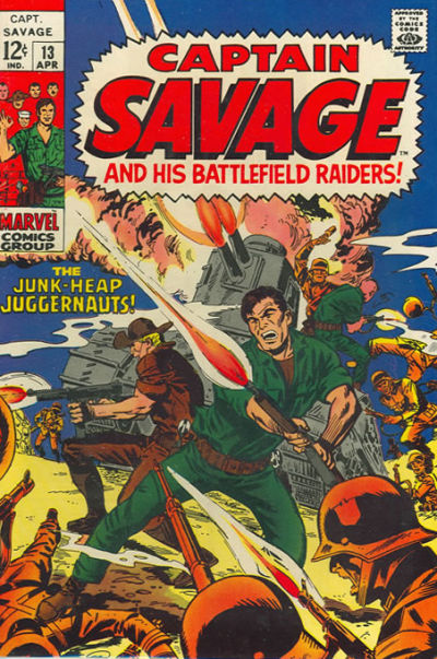 Capt. Savage and his Leatherneck Raiders Vol 1 13