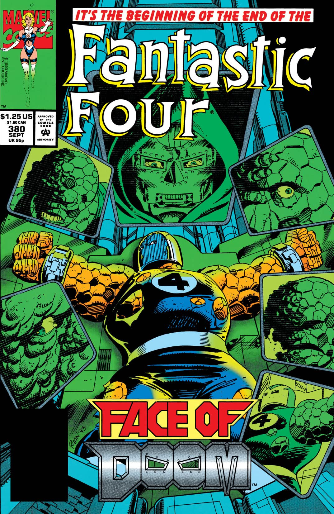 Fantastic Four Vol 1 380