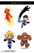 Fantastic Four Vol 6 5 Young Party RI Variant