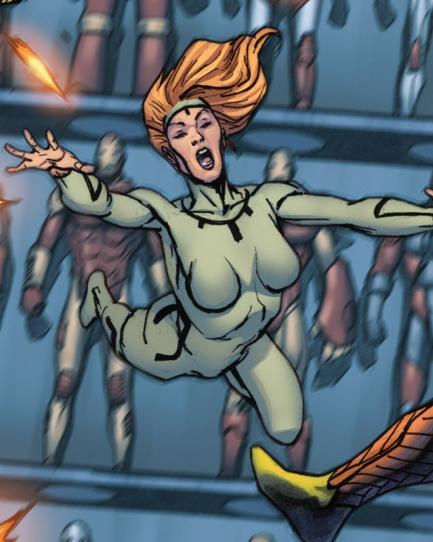 Firebrand (Amanda) (Earth-616)