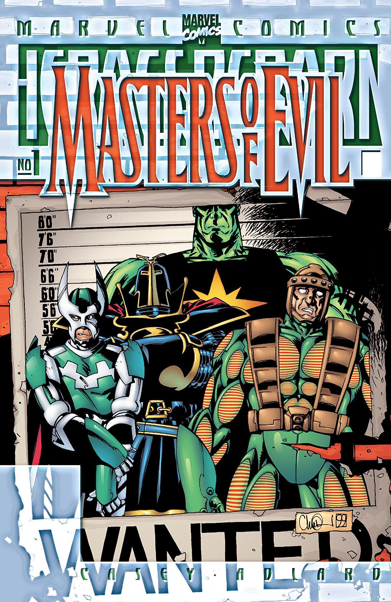 Heroes Reborn: Masters of Evil Vol 1 1