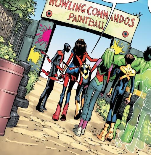 Howling Commandos Paintball