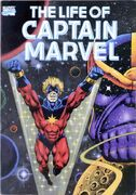 Life of Captain Marvel TPB Cover